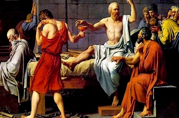 Sokratesin-olumu-(1787)