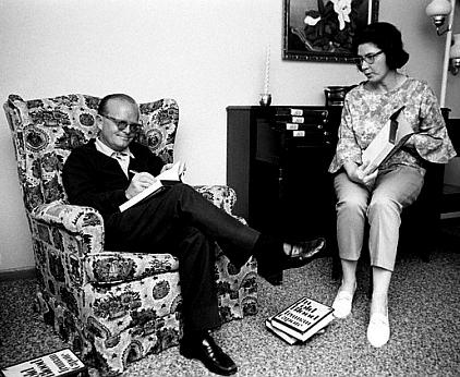 Truman Capote and Harper Lee