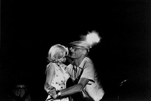 Arthur-Miller,Marilyn-Monroe-Parti-Photo by Eve Arnold