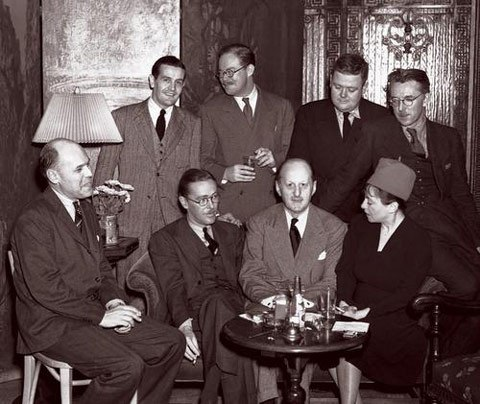 Dorothy-Parker,Fritz-Foord,Wolcott-Gibbs,Frank-Case,Alan-Campbell,St-Clair-McKelway,Russell-Maloney-ve-James-Thurber