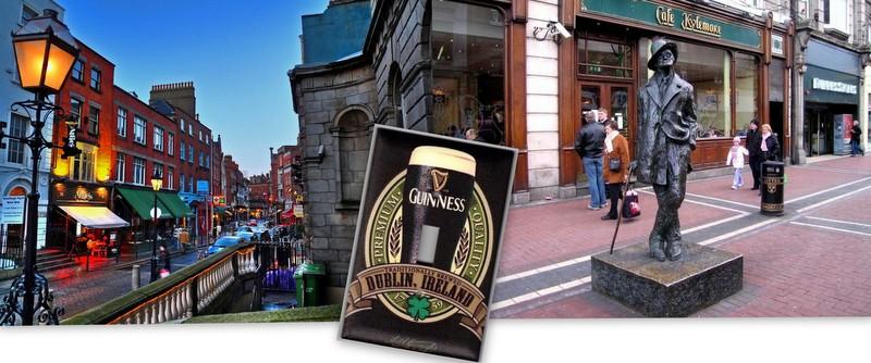James-Joycenin Dublini-Dublin-İrlanda