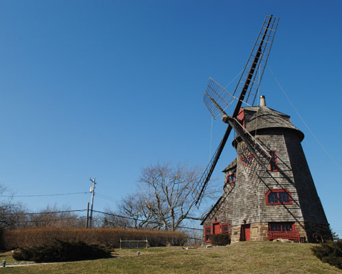 The windmill at the Stony Brook Southampton campus, Southampton, NY