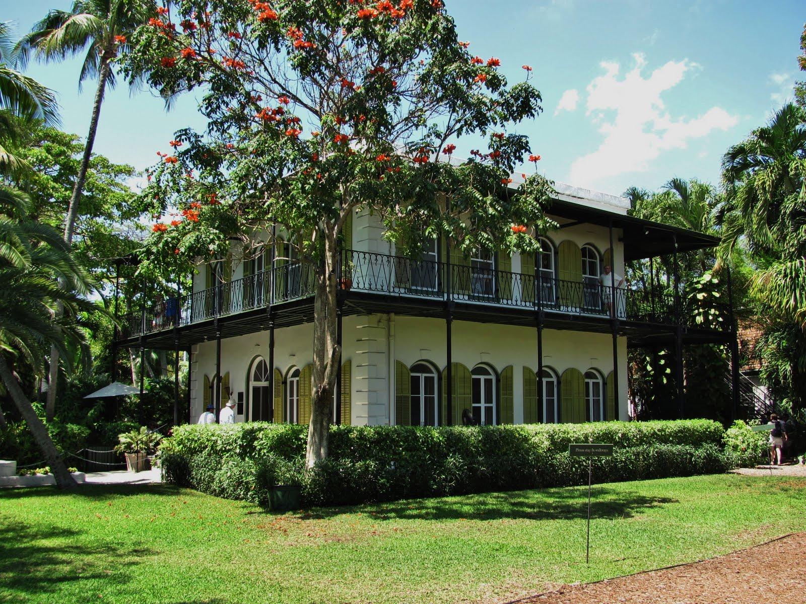 Ernest-Hemingway-evi-Florida-ABD