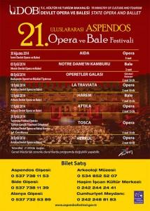 21. uluslararası aspendos opera ve bale festivali program