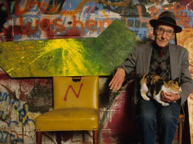 William-S-Burroughs-cat