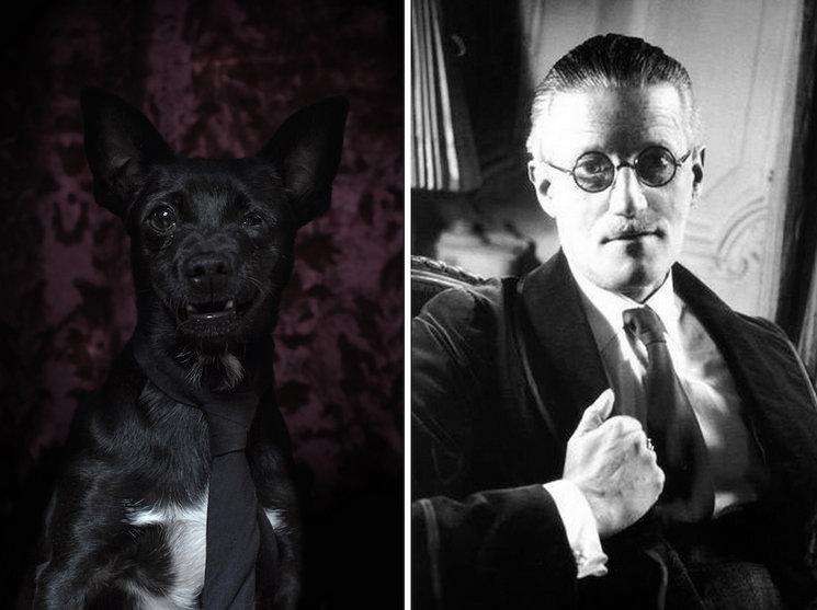 James-Joyce-ve-kopek-portresi