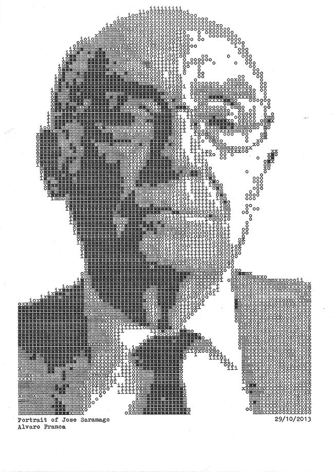 jose-saramago-typewritten-portrait-daktilodan-portresi-2