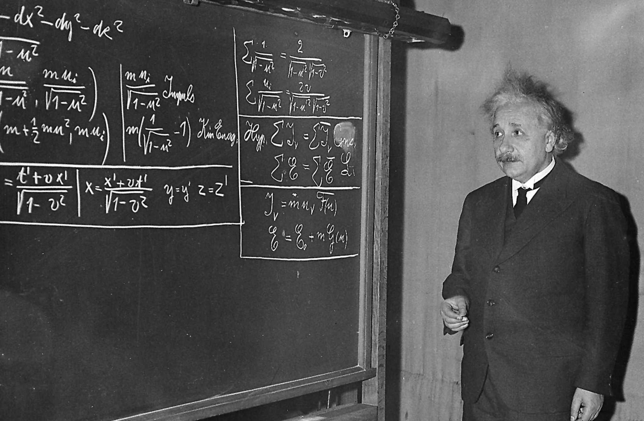 Albert-Einstein-in-Pittsburgh Konferansı'nda - 1934