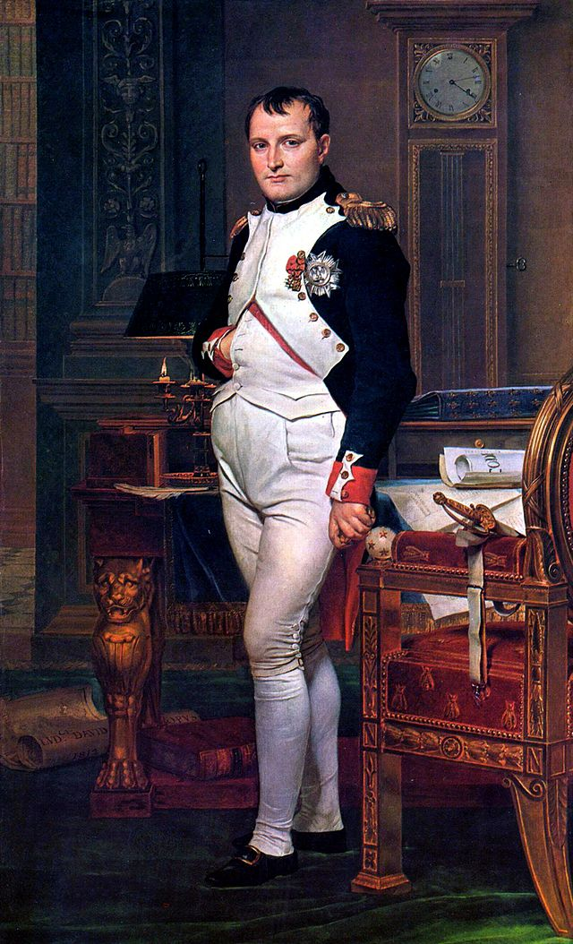 Napoleon-I- Jacques_Louis _David-resmi-(1812)