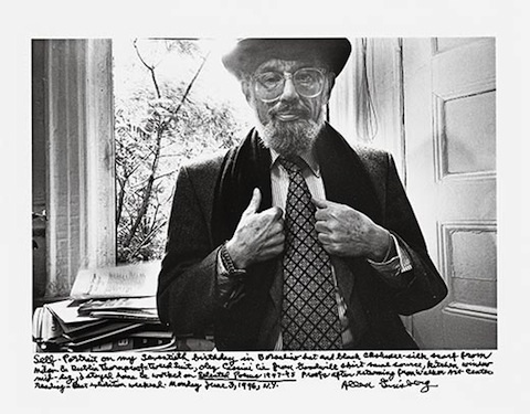 Allen-Ginsberg-1994-selfportrait