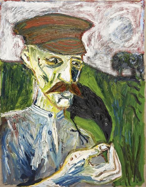 Billy-Childish_Self-Portrait-2005-2006