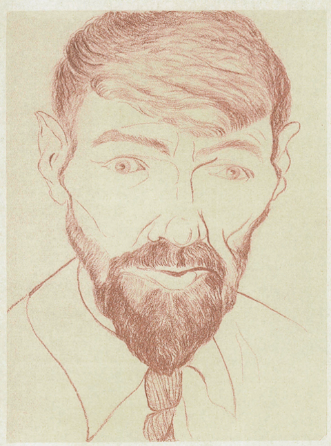 D-H-Lawrence-1929-selfportrait