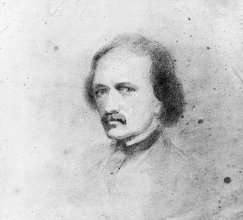 Edgar-Allan-Poe-selfportrait