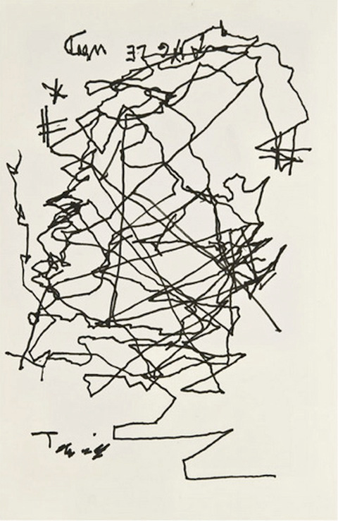 Jorge-Luis-Borges-after-he-had-gone-blind-1975-selfportrait