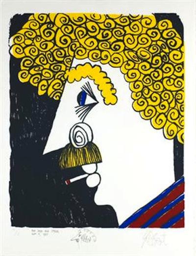Kurt-Vonnegut-1995-selfportrait