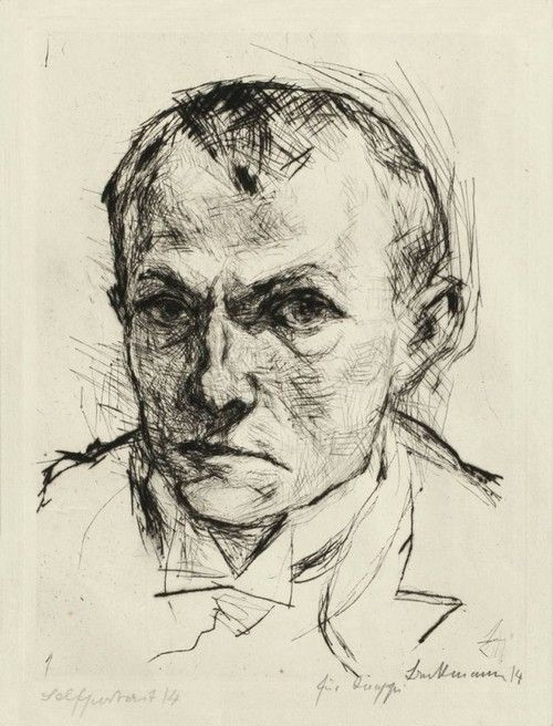 Max-Beckmann-Self-portrait-1914