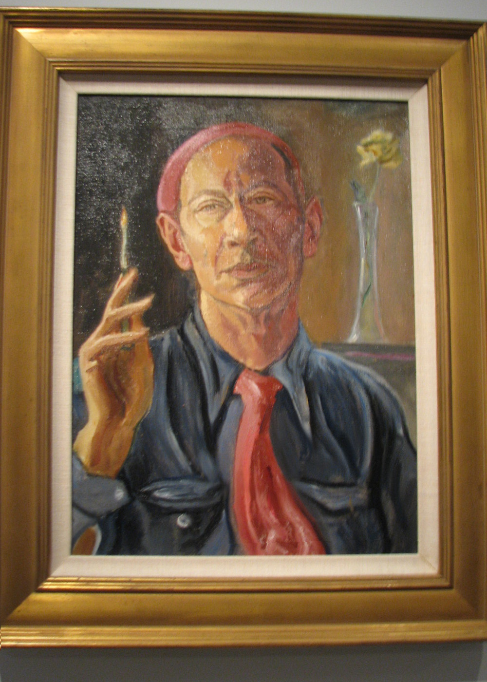 Self-Portrait-1958-E-E-Cummings