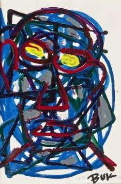 charles-bukowski-selfportrait-1
