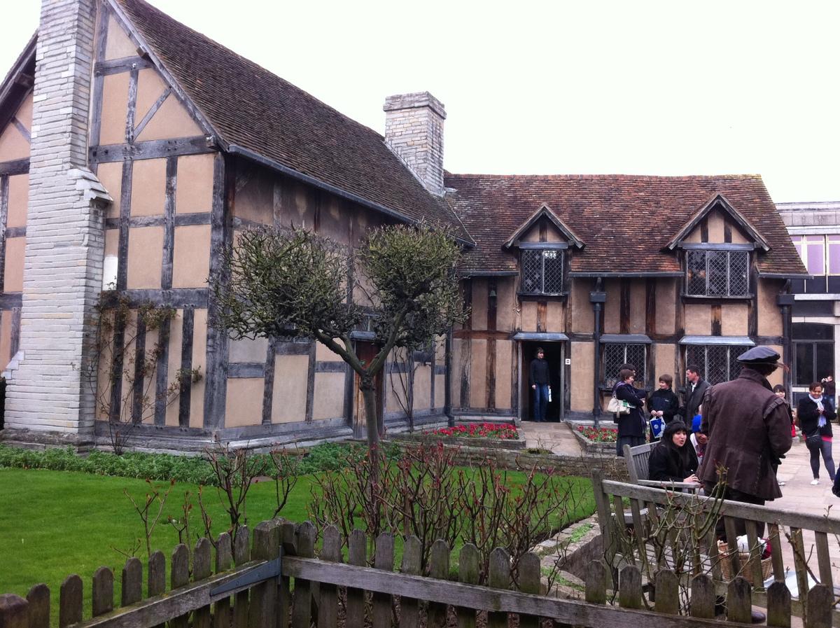 Stratford-upon-Avon-william-shakespeare-house
