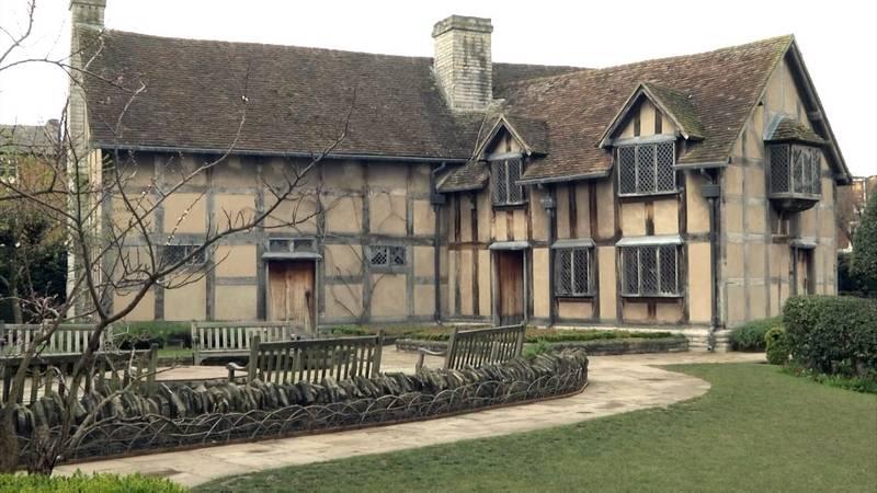 william-shakespeare-dogdugu-evi-Stratford-upon-Avon